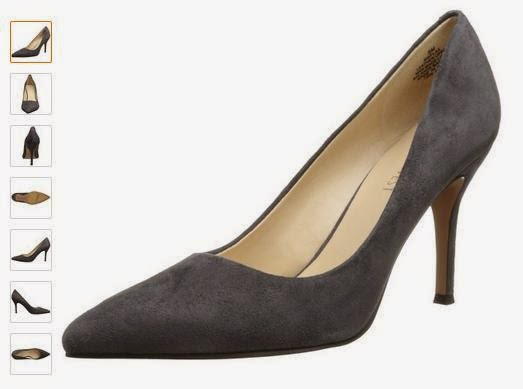 Nine West Women's Flax Suede Dress Pump