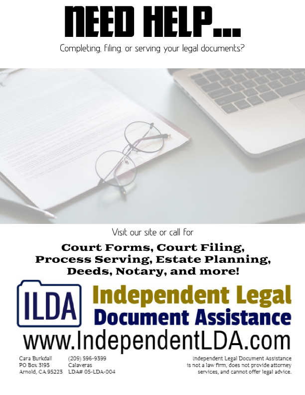 Independent Legal Document Assistance