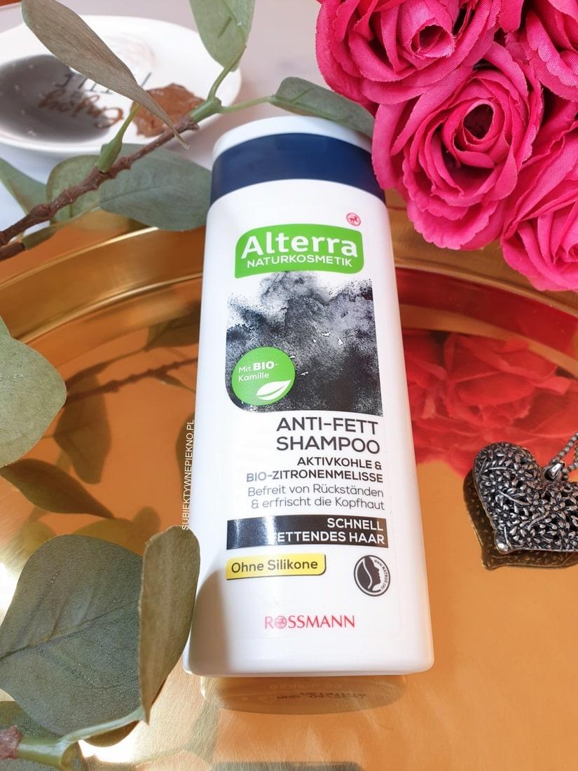 Alterra szampon węgiel opinie, blog, skład