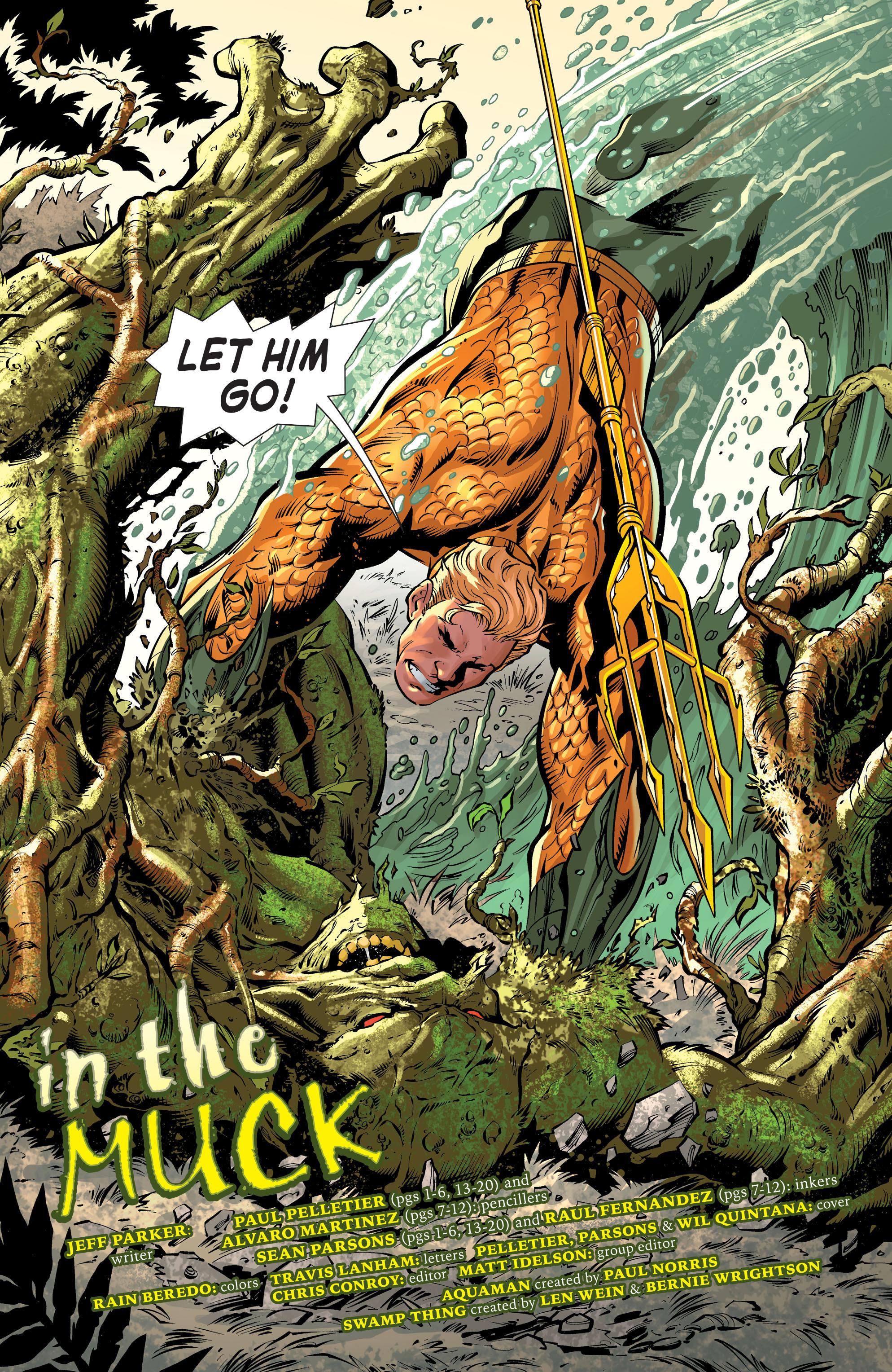 Read online Aquaman (2011) comic -  Issue #31 - 5