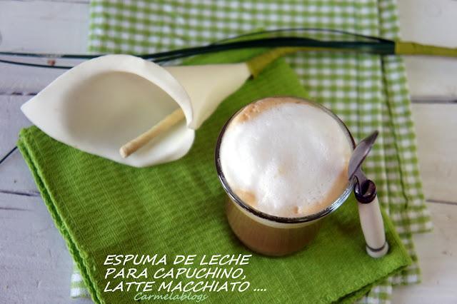 ESPUMA DE LECHE PARA CAPUCHINO, LATTE MACCHIATO, ..., UN CAFÉ CON ALTURA