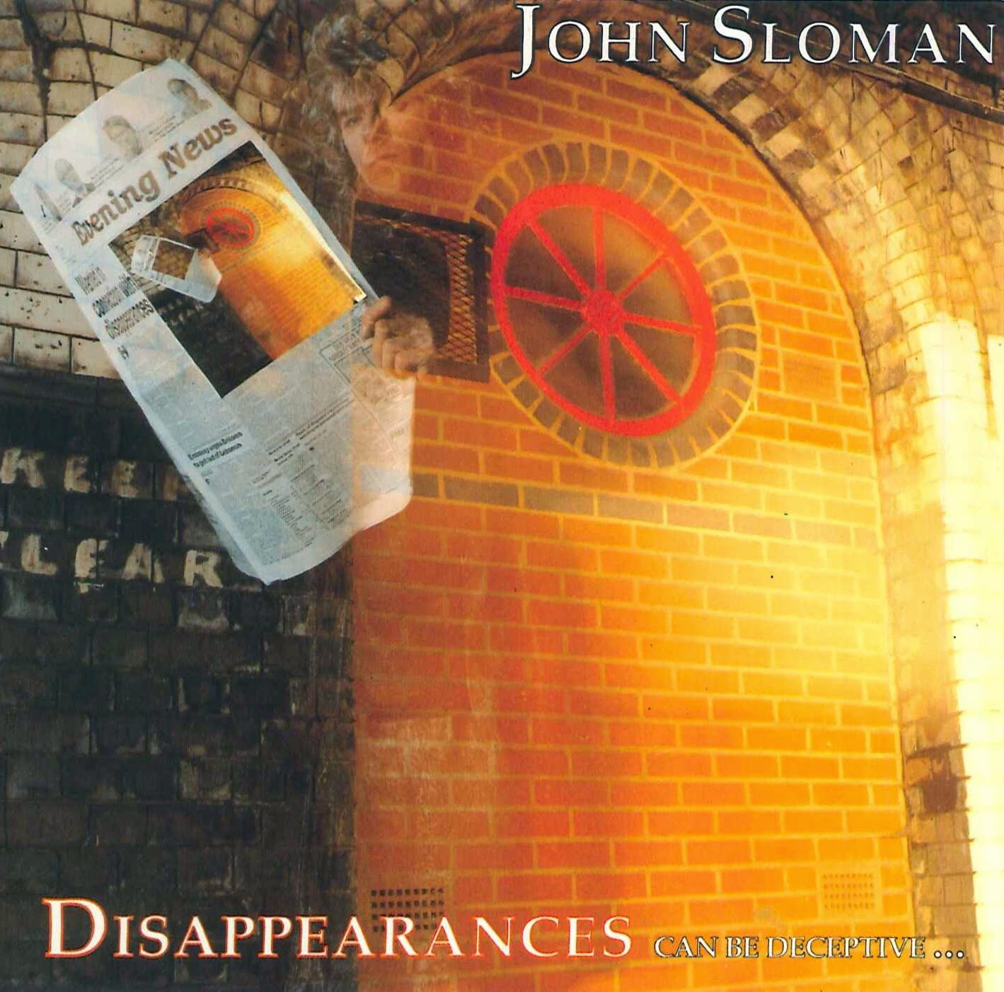 John Sloman Disappearances can be deceptive 1989 aor melodic rock
