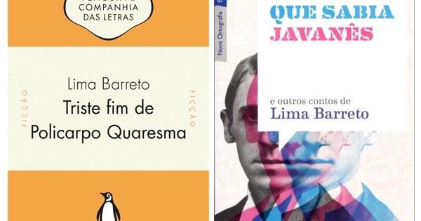 10 Livros de Lima Barreto para ter na estante - Listas
