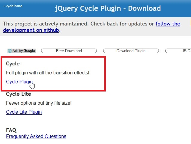 Jquery.cycle.all.js download