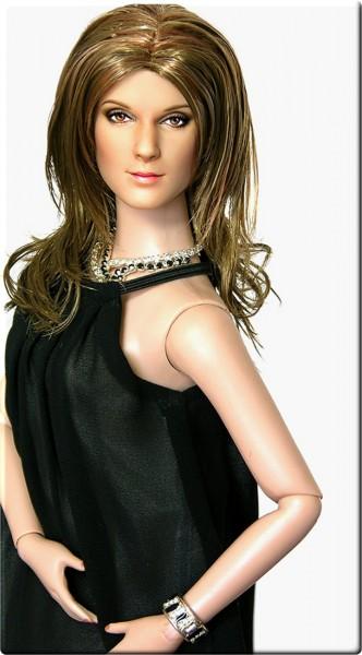 Muñeca o figura de acción Celine Dion