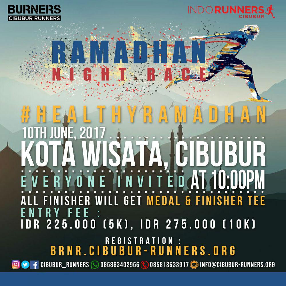 Burners Ramadhan Night Race • 2017
