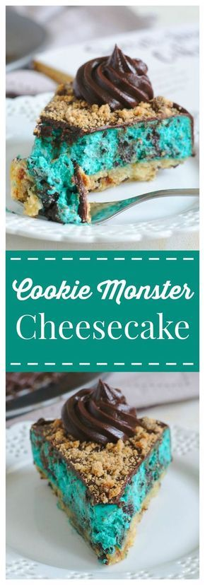 Cookie Monster Cheesecake Recipe