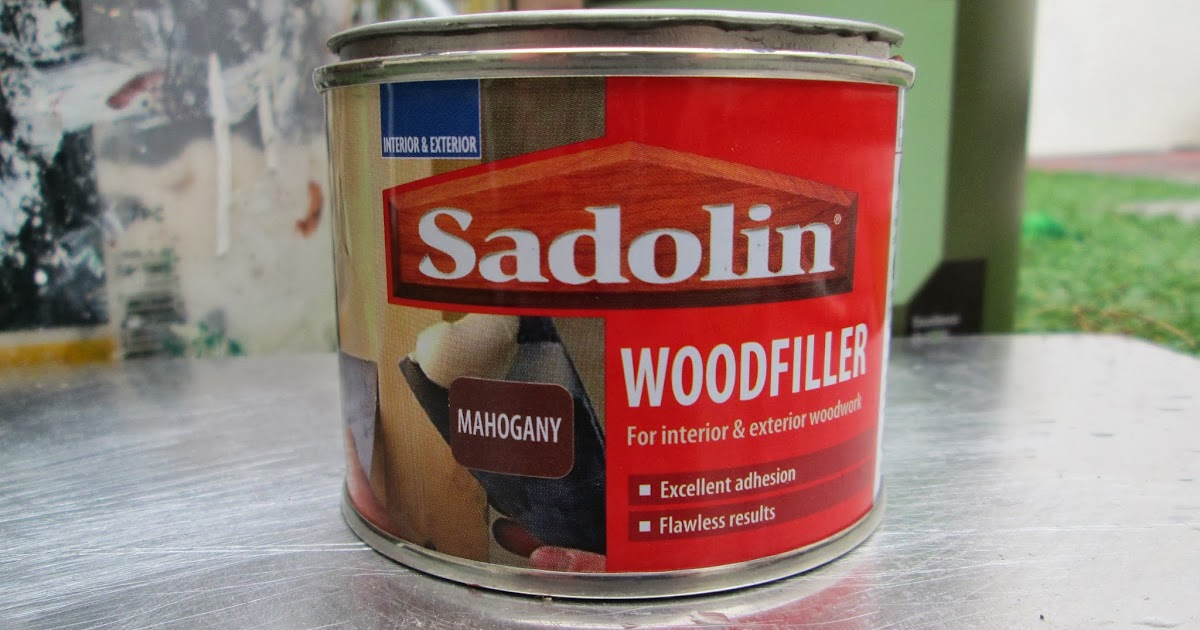 ... wood filler by Sadolin perfect for filling woodwork before stain is