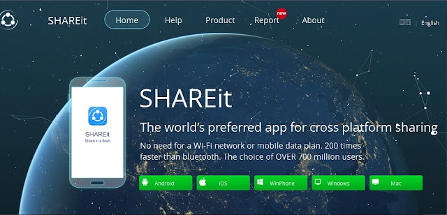 SHAREit For PC Windows 10, 8, 7 Laptop Free Download
