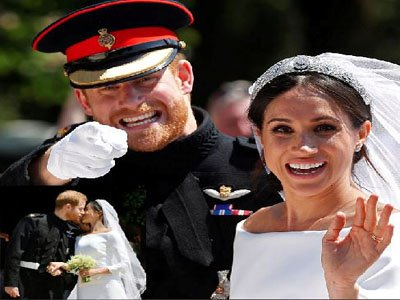 Prince Harry and Meghan Markle wed in style