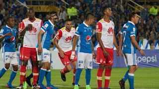 Millonarios vs Independiente Santa Fe en Final Torneo Finalización 2017
