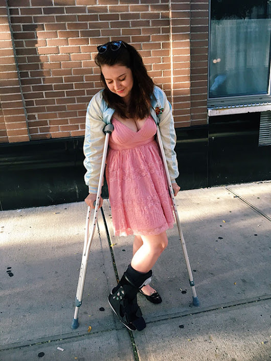 How I Broke My Foot and Found Happiness (sorta)