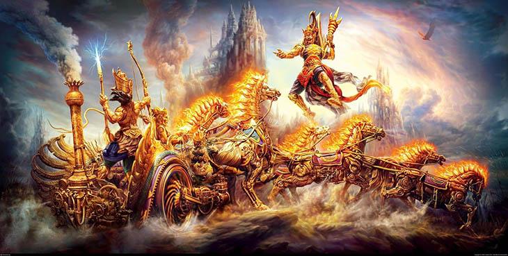 GF, mitoloji, Hint mitolojisi, Mahabharata, Hint destanı, Eski çağlarda nükleer savaş, Eski çağda yüksek teknoloji, Krishna ve Salva, Hint destanında nükleer savaş, Ufolar, Hint destanında Ufo,