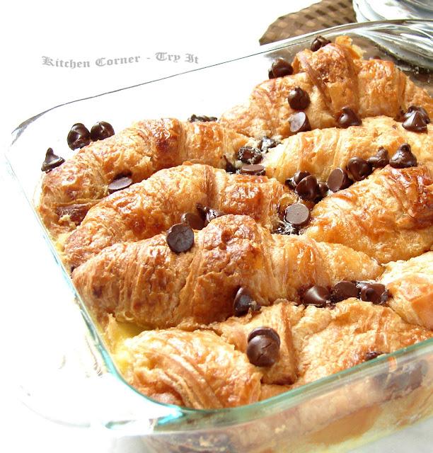 Kitchen Corner-Try It: Croissant Bread Pudding