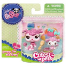 Littlest Pet Shop Mommy & Baby Poodle (#2498) Pet
