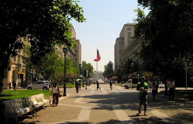 Clima em Santiago no mês de outubro