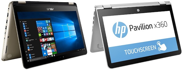 Asus VivoBook Flip TP301UA-DW010T vs HP Pavilion x360 13-u001ns