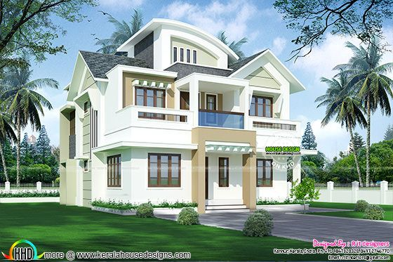 2145 sq-ft Modern Kerala Home design