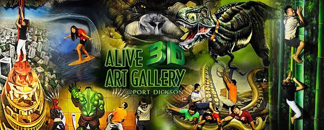 Tempat Menarik Di Port Dickson 3D Art Gallery