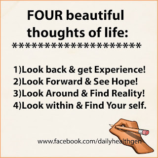 4 beautiful thoughts of life - Yogesh Goel