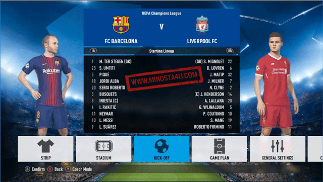 PES 2018 FIFA Font Style by Cao Viet An
