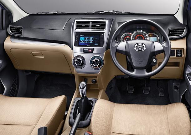 Interior Kabin Toyota Grand New Avanza