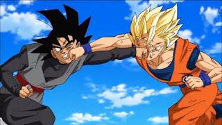 Black Goku vs Goku