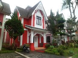 Villa Kota Bunga EE 8 - 9, Villa Murah di Cipanas