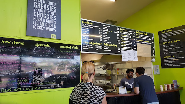 The Fishbox Taupo Menu