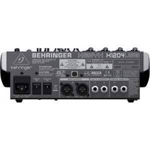 Spesifikasi Behringer Xenyx 1204USB USB Mixer