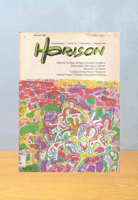 Majalah Horison No. 10, 1992