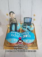 Cupcake Ulang Tahun Tema Pekerja