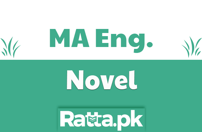MA English Novel Past Paper 2019