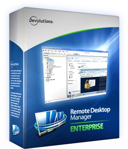 Remote Desktop Manager Enterprise 12.6.4.0 poster box cover