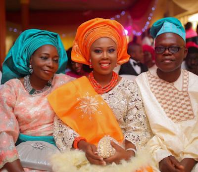 Photos from the wedding of video director, Matt Max and Eniola Efunkoya