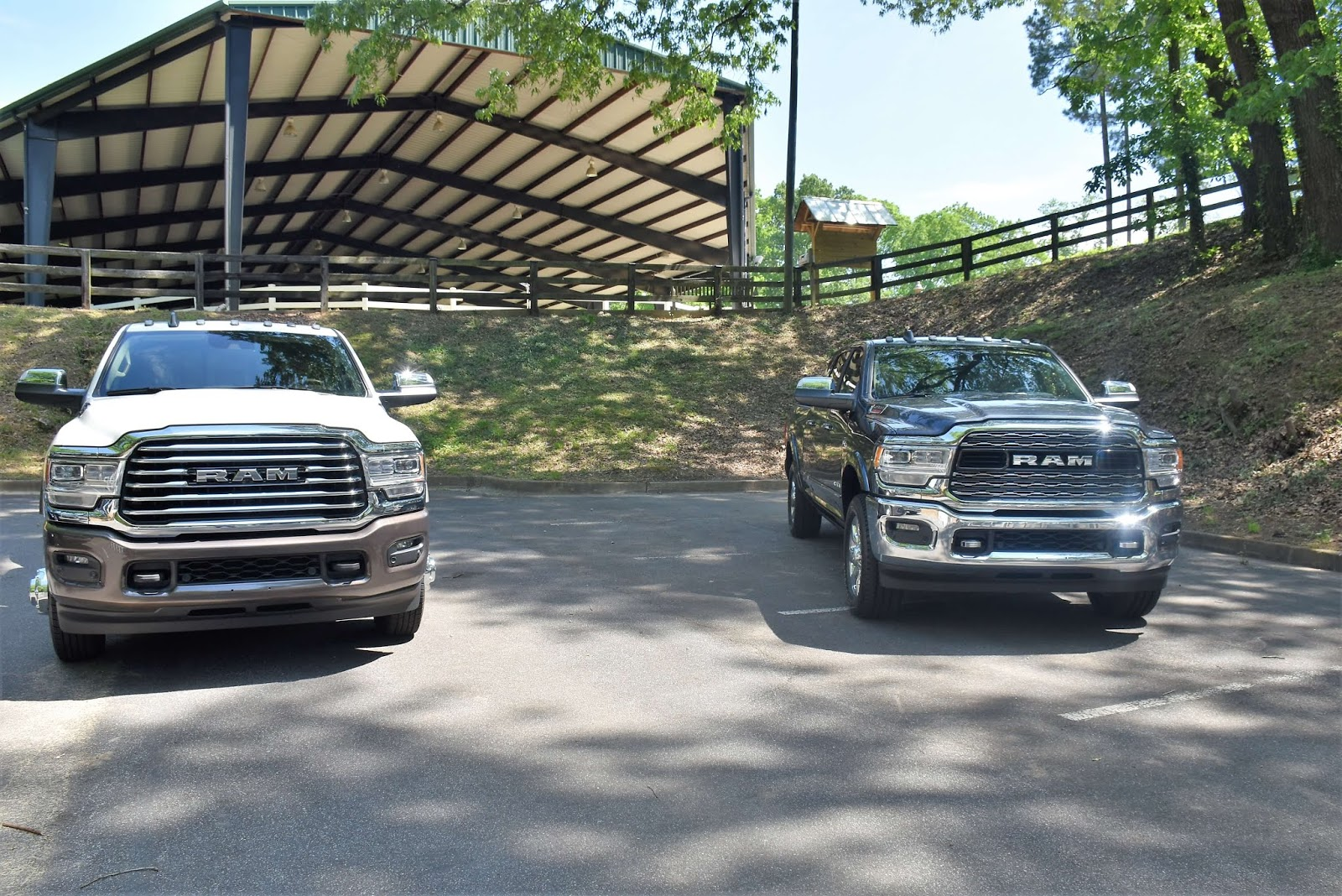 2019 RAM Trucks White and Black
