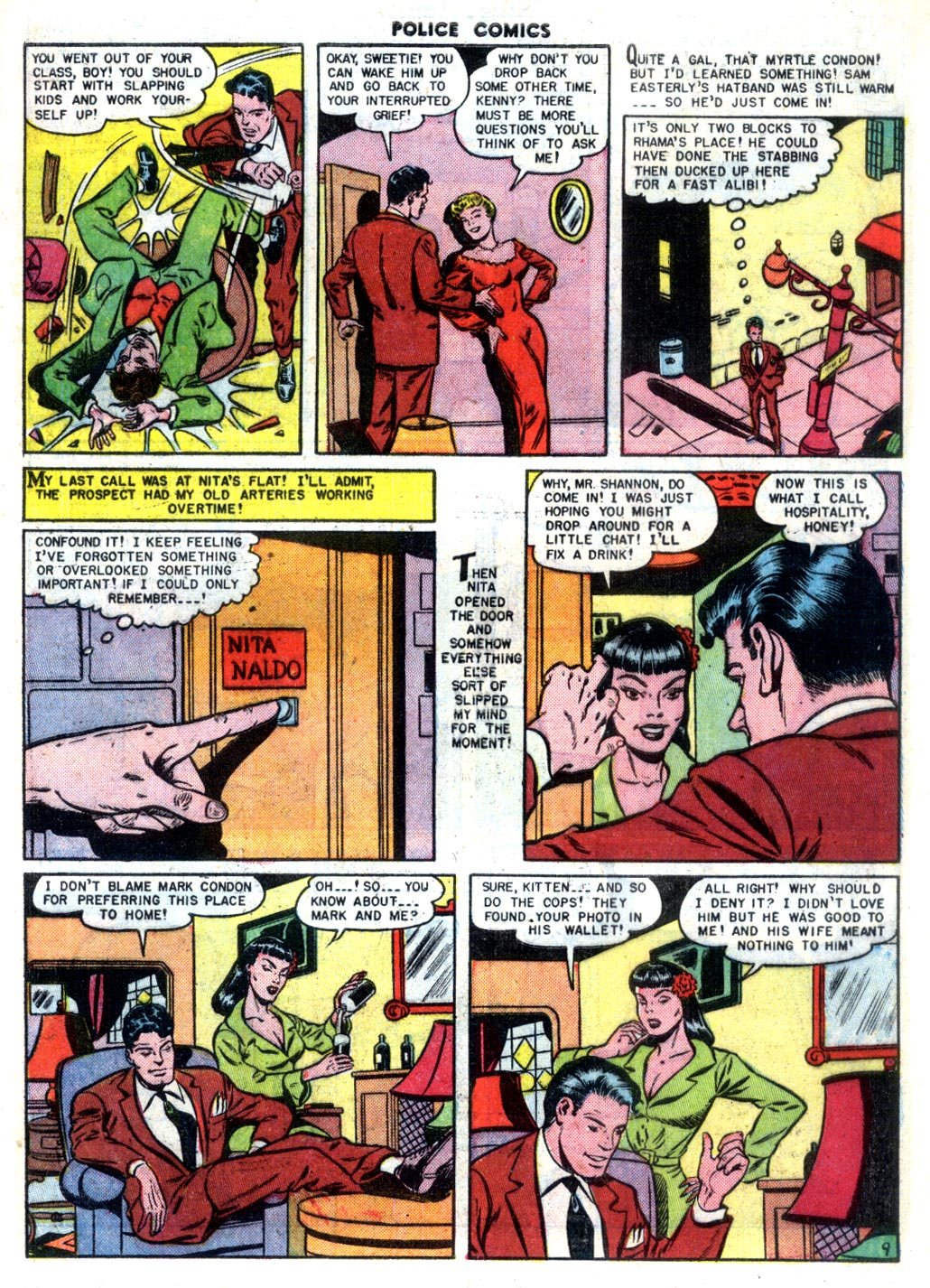 Police Comics issue 105 - Page 11
