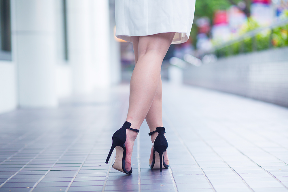 Crystal Phuong x  Revolve Clothing- Black heels
