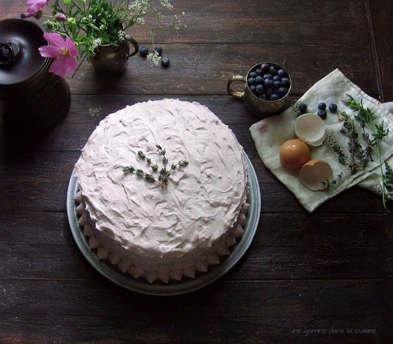 une gamine dans la cuisine: Tangled up in Blue, High Rise Cake