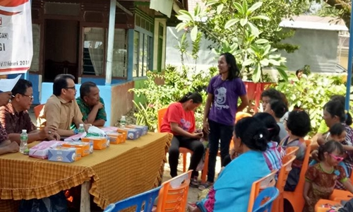 Wismar Panjaitan Melaksanakan Reses di Parupuk Tabing