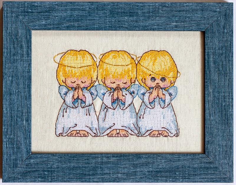 Дименшенс вышивка ангелочки
