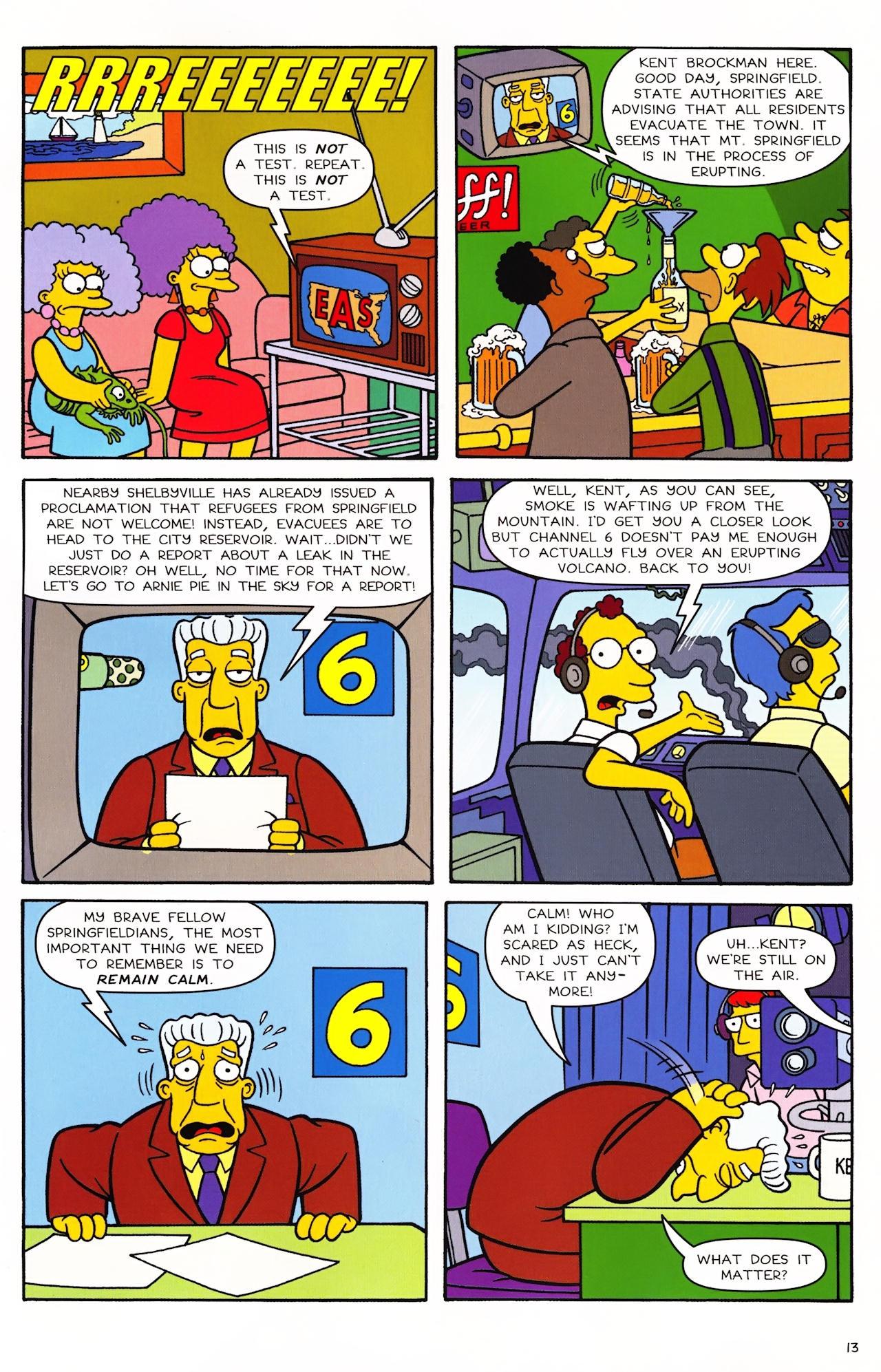 Read online Simpsons Comics comic -  Issue #152 - 12
