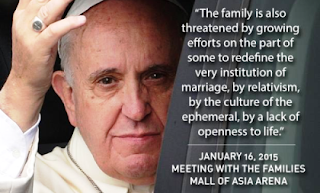Pope Francis Message to Families