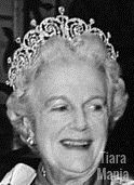 countess essex diamond tiara cartier clementine churchill