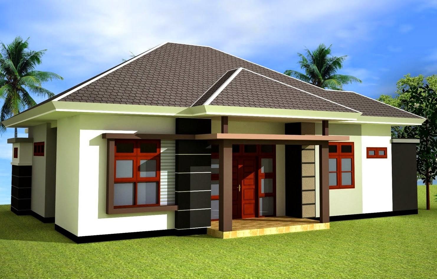 model rumah desa terbaru 2