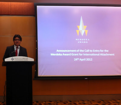 Merdeka Award Grant for International Attachment