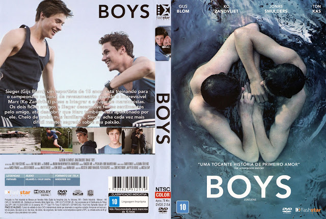 Capa DVD Boys