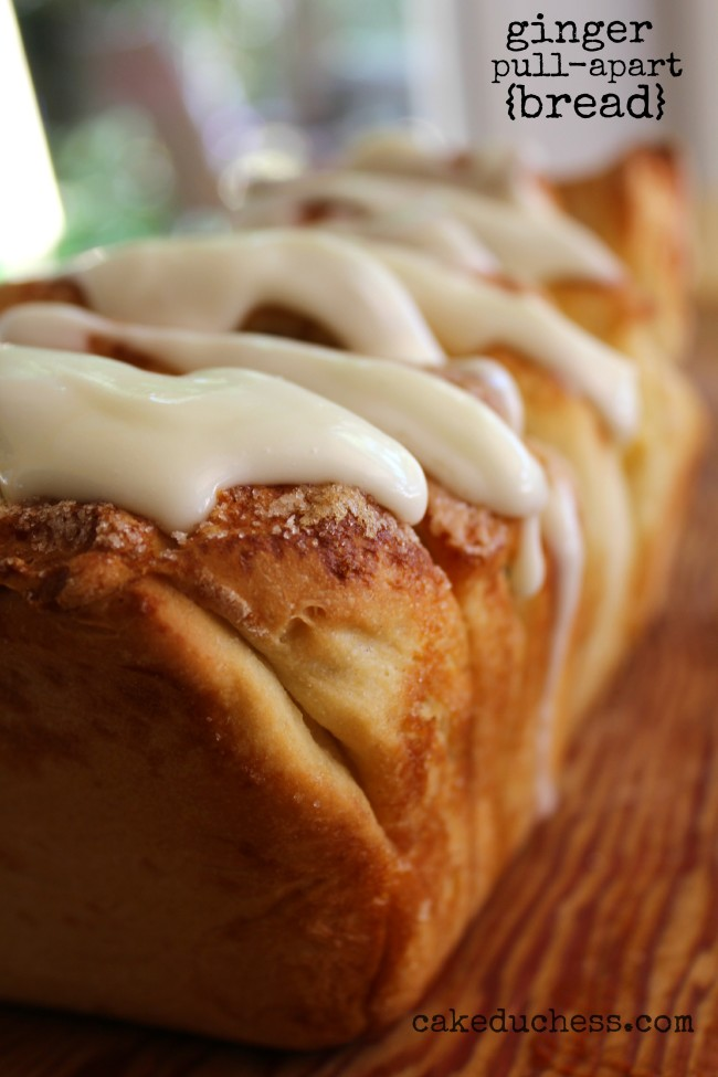 Ginger Pull-Apart Bread