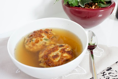 Kaspressknödel-Suppe