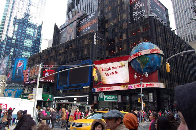 Times Square New York Agathe Diary